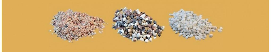 Vendita Sassi, Ghiaia e Sabbia naturale per Presepe - PresepeePresepi